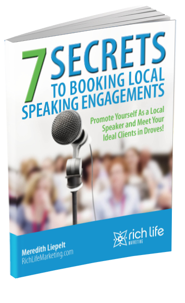 7 Secrets to Booking Local Speaking Engagements