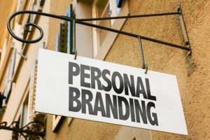 sign reading personal branding