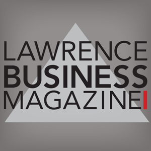 Lawrence Business Magazine logo