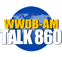 WWDB AM Talk 860 logo